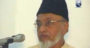 معروف تحریکی رہنما مولانا عبدالعزیز کے سانحہ ارتحال پر